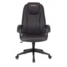 Кресло игровое Zombie Viking-8 черный искусственная кожа крестовина пластик
