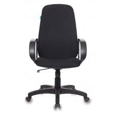Кресло руководителя Бюрократ CH-808AXSN черный 3C11 крестовина пластик