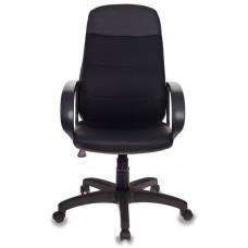 Кресло руководителя Бюрократ CH-808AXSN черный искусст.кожа/ткань крестовина пластик