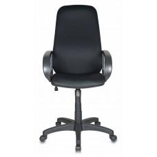 Кресло руководителя Бюрократ Ch-808AXSN черный TW-11 крестовина пластик