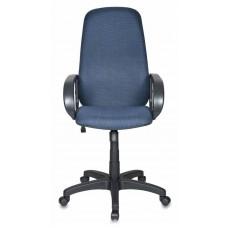 Кресло руководителя Бюрократ Ch-808AXSN черный/синий 12-191 крестовина пластик
