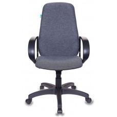 Кресло руководителя Бюрократ CH-808AXSN серый 3C1 крестовина пластик