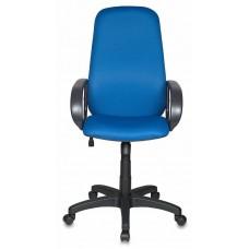 Кресло руководителя Бюрократ Ch-808AXSN синий TW-10 крестовина пластик