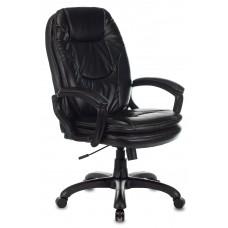 Кресло руководителя Бюрократ CH-868N черный Leather Venge Black искусственная кожа крестовина пластик