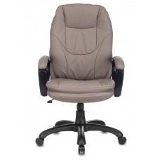 Кресло руководителя Бюрократ CH-868N серый искусственная кожа крестовина пластик