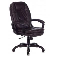 Кресло руководителя Бюрократ CH-868N темно-коричневый NE-15 искусственная кожа крестовина пластик