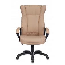 Кресло руководителя Бюрократ CH-879N бежевый Or-14 искусственная кожа крестовина пластик