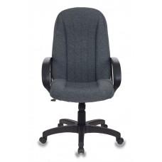 Кресло руководителя Бюрократ T-898AXSN серый 3C1 крестовина пластик