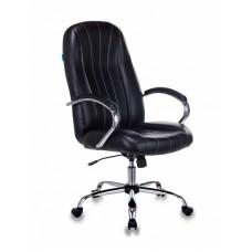 Кресло руководителя Бюрократ T-898SL черный Leather Venge Black искусственная кожа крестовина металл хром