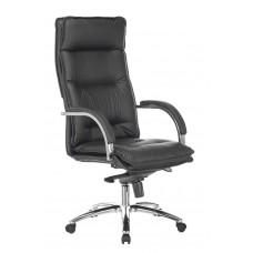 Кресло руководителя Бюрократ T-9927SL черный кожа крестовина металл хром
