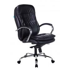 Кресло руководителя Бюрократ T-9950 черный искусственная кожа крестовина металл хром