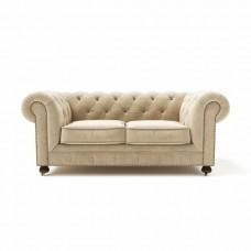 Диван-кровать Chesterfield Lux двухместный раскладной бежевый