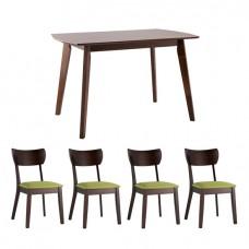 Обеденная группа Magni, стулья Tomas