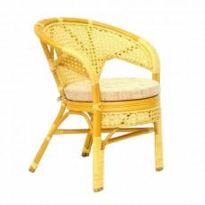 Плетеное стул-кресло Пеланги К мед