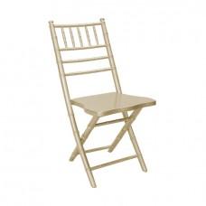 Складной стул Кьявари шампань, деревянный