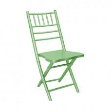 Складной стул Кьявари зеленый, деревянный
