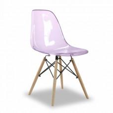 Стул Eames, фиолетовый прозрачный
