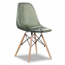 Стул Eames, серый прозрачный