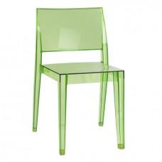 Стул Гиза Зеленый, пластиковый