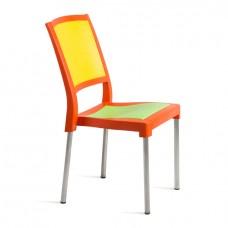 Стул Новая классика оранжевый/ салатовый/ желтый