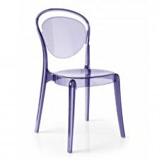 Стул Паризьен Фиолетовый, пластиковый