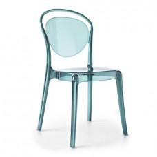 Стул Паризьен Голубой, пластиковый
