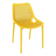 Стул пластиковый Air, желтый