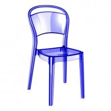 Стул Во Синий, пластиковый