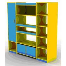 Шкаф для игрушек ШИ-1 2597