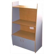 Шкаф для игрушек и пособий 633