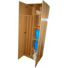 Шкаф для уборочного инвентаря ШУ-01 62*40*180 см