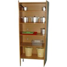 Шкаф для хозяйственных нужд ШУ-02 80*40*180 см