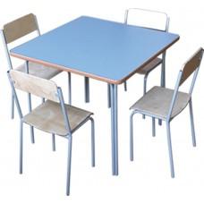 Стол детский МД-01ЛК/2 70*70 см ЛДСП, кант