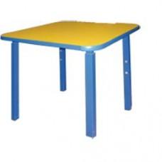 Стол детский МД-02Р/4 квадратный регулируемый