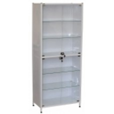 Шкаф медицинский двухсекционный двухдверный Э-113-ШК