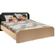 Кровать 2-х спальная с двумя спинками Клен 196.2х145 см