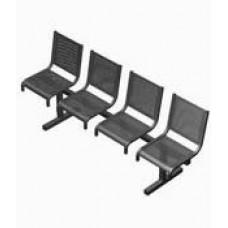 Секция перфорированная СП1.104 из 4-х стульев без подлокотников