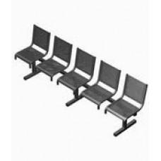 Секция перфорированная СП1.105 из 5-ти стульев без подлокотников