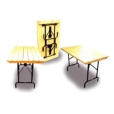 Стол складной 185 см сосновая рейка