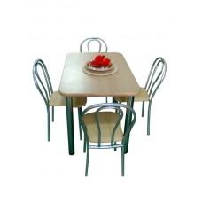 Стол обеденный 110*70 см толщина столешницы 1,6 см