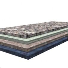 Столешница с облицовкой пластиком постформинг размеры 100*70 см высота 3,2 см
