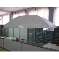 Зонт 3580 Sonu 175 см белый с наклоном