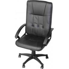 Кресло офисное Y-2038 черный кожзам