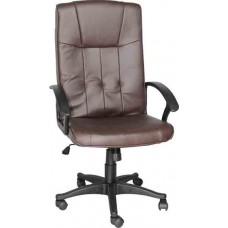 Кресло офисное Y-2038 коричневый кожзам