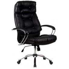 Кресло офисное LK-14 кожа пятилучье хром