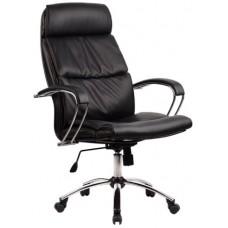 Кресло офисное LK-15 кожа пятилучье хром