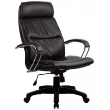 Кресло офисное LK-15 кожа пятилучье пластик