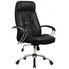 Кресло офисное LK-7 кожа пятилучье хром