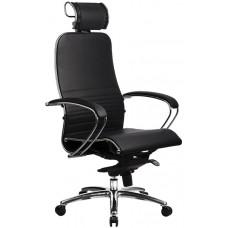 Кресло офисное Самурай К-2.03 пятилучье хром