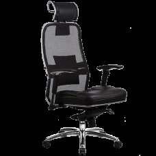 Кресло офисное Самурай SL-3.03 пятилучье хром